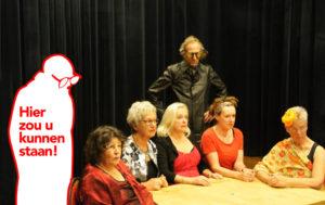 Gratis toneelvoorstelling en theatercursus in 't Vinkhuys