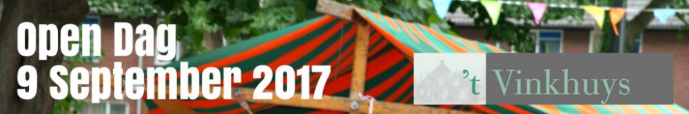 Vinkhuys Open Dag 2017 9 sep banner